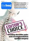 BMJ cover with Editor's Choice stamp